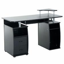 Pc Computer Desk Wooden Desktop Table Home Office Writing Workstation Corner