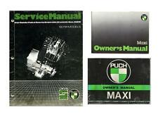 Puch Maxi Manual Moped Workshop & Service CD Everything You'll Need to Restore