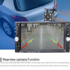 6.6''Touch Screen Car MP5 2DIN Bluetooth FM Radio Stereo Player With Rear Camera