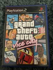 Grand Theft Auto - Vice City - Grand Theft Auto: Vice City - PS2 - WITH MAP