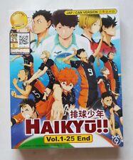 Anime DVD Haikyuu!! Haikyu!! Vol. 1-25 End ENGLISH SUB All Region FREE SHIPPING