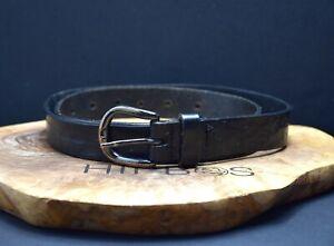 Comptoir des Cotonniers Womens Leather Belt Black Size 30