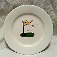 New listing Par 19 Golf Theme Dessert Snack Plates Set of 4 Gift Golfers Dad