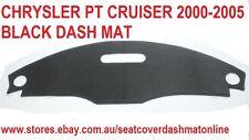DASH MAT,BLACK DASHMAT, FIT CHRYSLER PT CRUISER 2000-2005, BLACK