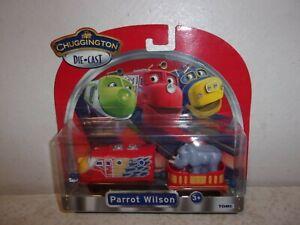 Chuggington Die-Cast - Parrot Wilson - 2 Piece Set - New in Package