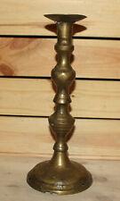 Antique hand made bronze candlestick