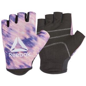 Reebok Women's Fitness Training Gloves Weight Lifting Fingerless Gym RAGB-1362