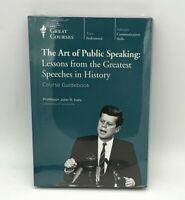 NEW The Art of Public Speaking: Lessons from the Greatest Speeches in History