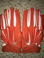 NEW Nike Superbad 3.0 Orange Football Gloves Size 3XL