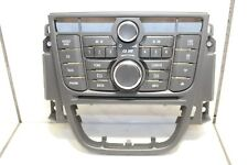 Opel Meriva B CD300 Radiobedienteil Bedienteil Radio Bordcomputer 13346041