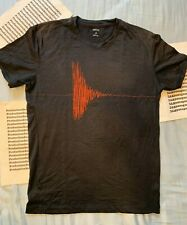 Icebreaker Men's Merino Wool Waveform Short Sleeve Crew T-Shirt - Black Sz S