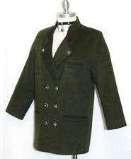 "WOOL GREEN JACKET Women Girls AUSTRIA Hunting QUARTER SLEEVES Coat B40"" 38 10 M"