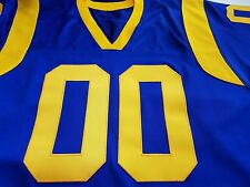 #00 LA Custom Football Jersey Your  Name&Number Sewn On.4XL5XL 6XL 7XL
