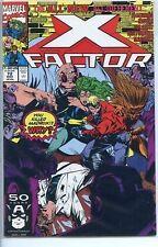 X-Factor 1986 series # 72 near mint comic book