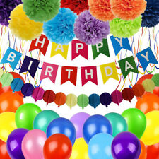Colorful Birthday Decorations Party Supplies Colorful Birthday Decorations,Happy
