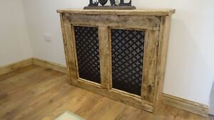 MADE TO ORDER CHUNKY RUSTIC STYLE RADIATOR COVERS - CAN BE MADE ANY SIZE