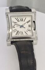 "Bedat & Co ""No 1"" Stainless Steel Diamond Bezel Ladies Watch *USED"