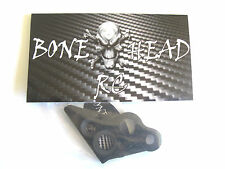 BONEHEADRC CARBON L ENGINE MOUNT BRACE, 4MM, CNC, COMPATIBLE WITH HPI BAJA 5B/SS
