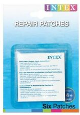 NEW INTEX 6PC STICK ON REPAIR PATCHES SELF ADHESIVE BOUNCY CASTLES LILO FLOATS