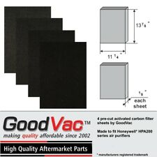 4 Activated Carbon Pre-filters. To fit Honeywell HPA200 series by GoodVac