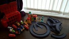 Chuggington bundle, great set of trains, playset, extra track pieces, carry case