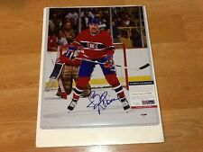 Larry Robinson Signed 11x14 Photo PSA DNA COA Autographed Montreal Canadiens a