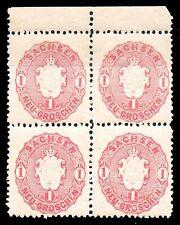 SACHSEN - Altdeutschland 1863 - MiNr. 16a **postfrisch