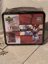 Michael Jordan 1999 Upper Deck Tribute To Jordan 30 Card Set Lunch Box Brand New