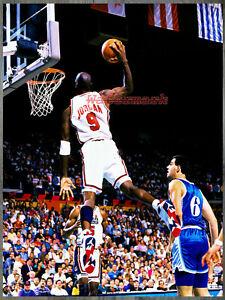 NBA Michael Jordan Team USA Dream Team Game Action Color 8 X 10 Photo Picture