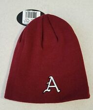 NWT Top of the World Adult ARKANSAS RAZORBACKS Knit Cap WINTER Hat RED   #150216