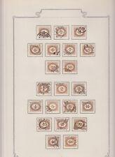 Österreich schöne Porto Sammlung gest./*, 1850-1938, (ANK 900.-)