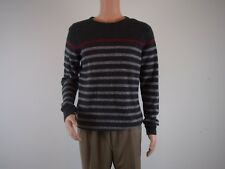 Urban Pipeline WOOL BLEND Pullover Sweater    SIZE: XL     GRAY & RED STRIPE