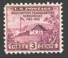 US. 727. 3c. Washington's Headquarters at Newbourgh, N.Y.. MNH. 1933