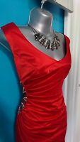 Julien macdonald star Debenhams dress 14 l bodycon wedding evening prom gown