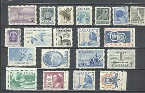 Canada 20 stamps MNH...................................................AT21-0012