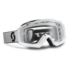 Scott Mx Hustle Gafas de motocross (para sistema) blanco con Transparente
