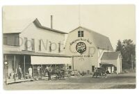 RPPC CONEWANGO VALLEY NY Mills Mill Store Cattaraugus County Real Photo Postcard