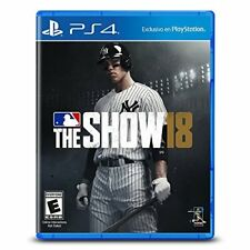MLB 18 THE SHOW PS4 (US IMPORT) GAME NEW
