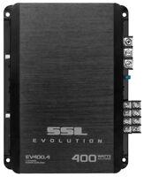 New Soundstorm EV400.4 400 Watt 4 Channel Car Power Amplifier Amp Mosfet SSL