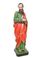 Saint Paul resin statue cm. 30