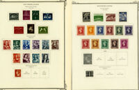 Netherlands Stamps Mint Sets & Singles 1920's-1960's on pages
