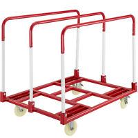 Panel Cart DollySteel Panel Mover 2400lbs, 38 Inch x 28 Inch Steel Panel Truck