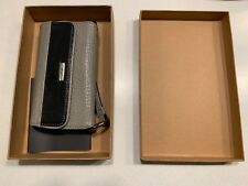 Vaja Lola X Wallet for iPhone X / XS Grey Floater Leather Black Detachable Case