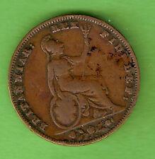 1837  WILLIAM IIII  GREAT BRITAIN FARTHING COIN
