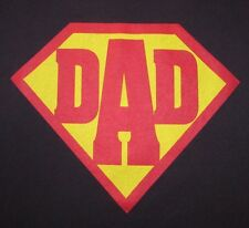 """FATHER'S DAY - DAD ( """"SUPER"""" DAD ) - Men's size M - Graphic T-Shirt"""