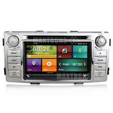 Car DVD GPS Sat Nav Headunit Autoradio For Toyota Hilux 2012-2015 Free Camera