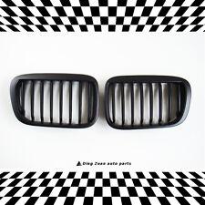 BMW 3 SERIES 1998-2001 E46 4 DOOR SEDAN MATTE BLACK FRONT GRILL GRILLE