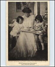 Adel & Monarchie ~1920 Prinzessin Ruppreht mit Prinzen Kinder Echtfoto-AK