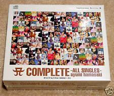 Hamasaki Ayumi A Complete Cd Album 1st Price Puzzle