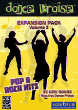 Dance Praise Expansion Pack Vol. 3 Pop & Rock Hits NEW! 35 Extra Songs! Get NOW!